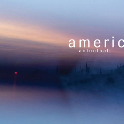 "PVR374-1 American Football ""American Football"" (LP3) LP/CD/Cassette Album Artwork"