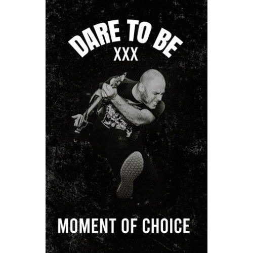 "PZ005-4 Dare To Be ""Moment Of Choice"" Cassette Album Artwork"