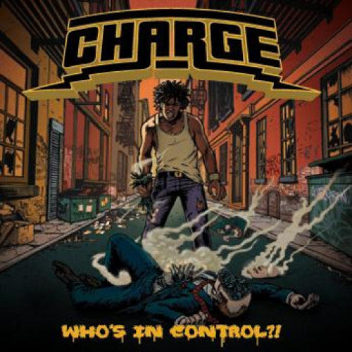 "REAP009-2 Charge ""Who's In Control?!"" CD Album Artwork"