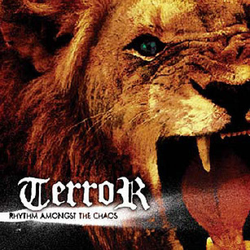 "REAP013-2 Terror ""Rhythm Amongst The Chaos"" CD Album Artwork"