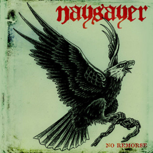 "REAP024-2 Naysayer ""No Remorse"" CD Album Artwork"