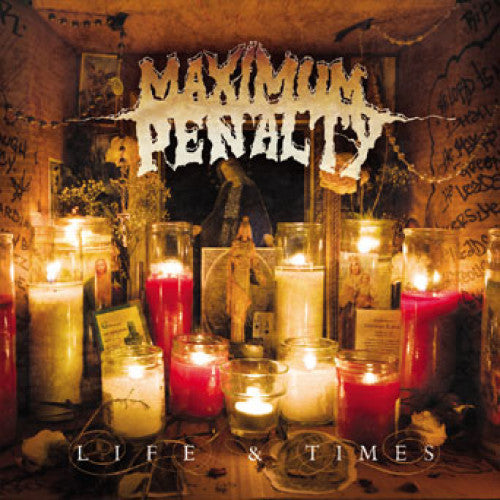 "REAP030-2 Maximum Penalty ""Life & Times"" CD Album Artwork"
