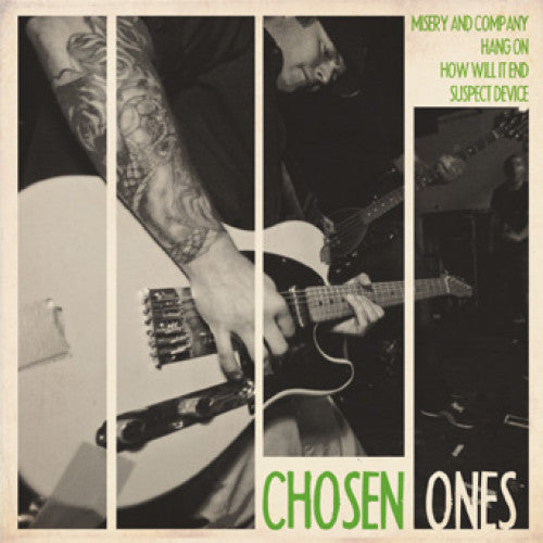 "REAP034-1 Chosen Ones ""s/t"" 7"" Album Artwork"