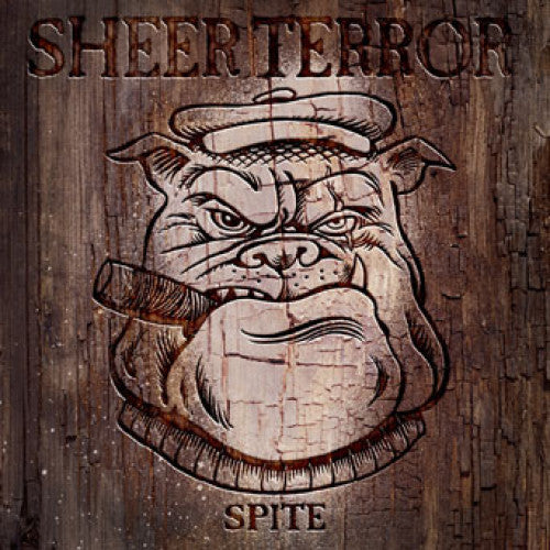 "REAP045-1 Sheer Terror ""Spite"" 7"" Album Artwork"