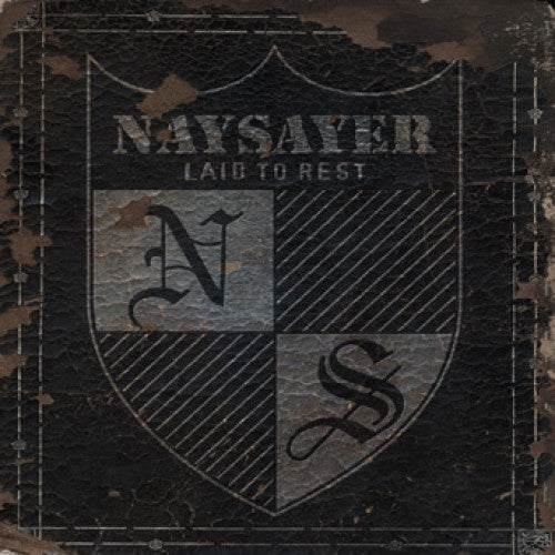 "REAP046-2 Naysayer ""Laid To Rest"" CD Album Artwork"