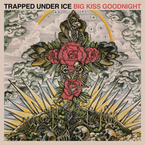"REAP047-1 Trapped Under Ice ""Big Kiss Goodnight"" LP Album Artwork"