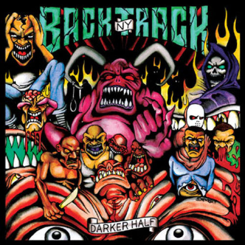 "REAP048-1 Backtrack ""Darker Half"" LP Album Artwork"
