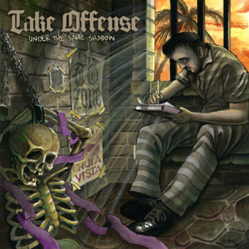 "REAP049-1 Take Offense ""Under The Same Shadow"" 12""ep Album Artwork"