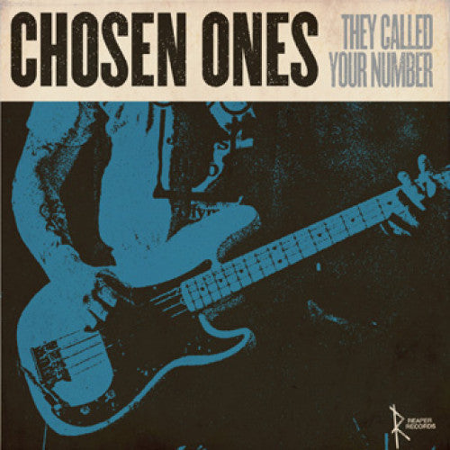 "REAP055-1 Chosen Ones ""They Called Your Number"" LP Album Artwork"
