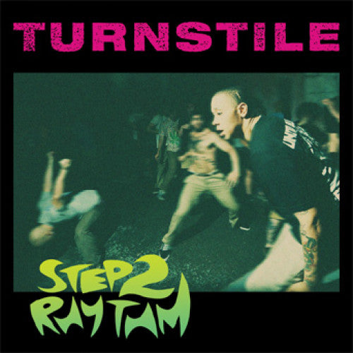 "REAP059-1 Turnstile ""Step 2 Rhythm"" 7"" Album Artwork"