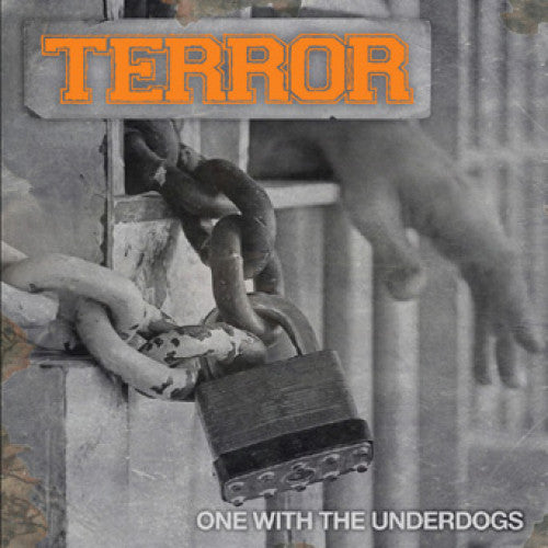 "REAP070 Terror ""One With The Underdogs"" LP/CD Album Artwork"