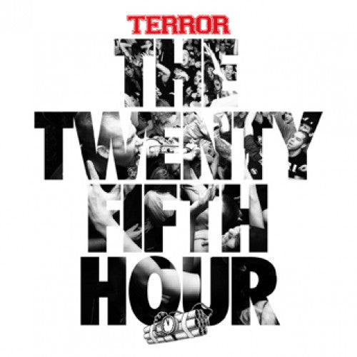 "REAP074-1 Terror ""The Twenty Fifth Hour"" LP Album Artwork"