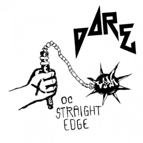 "REAP080-1 Dare ""OC Straight Edge"" 7"" Flexi DIsc Album Artwork"