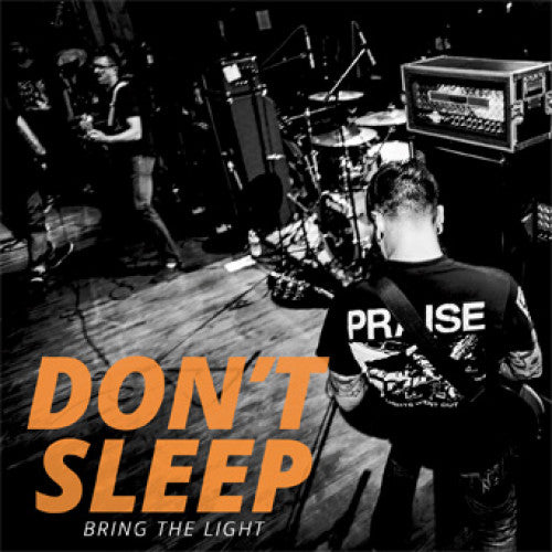 "REAP081-1 Don't Sleep ""Bring The Light"" 7"" Album Artwork"