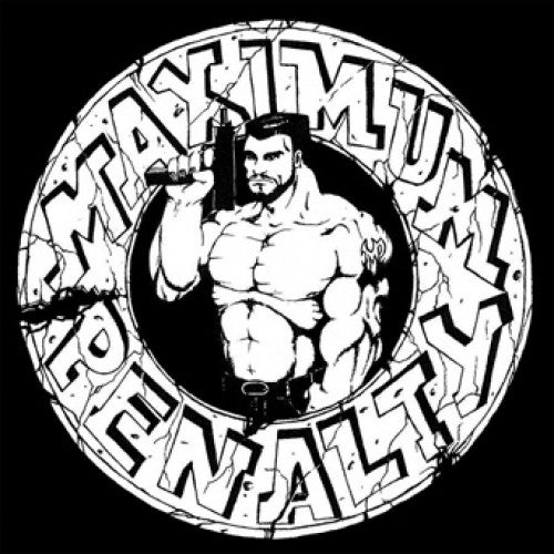 "REAP089-1 Maximum Penalty ""Demo 1989"" LP Album Artwork"