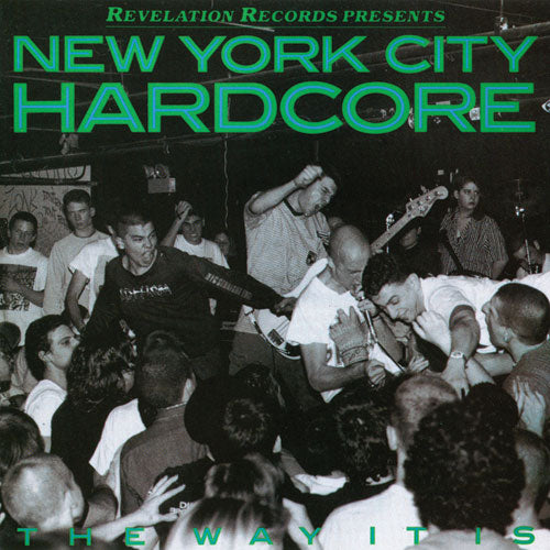"REV007-1 V/A ""New York City Hardcore: The Way It Is"" LP Album Artwork"