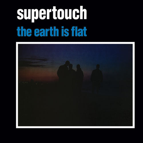 "REV021-1 Supertouch ""The Earth Is Flat"" LP - White Album Artwork"