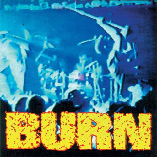 "REV022-1 Burn ""s/t"" 7"" Album Artwork"