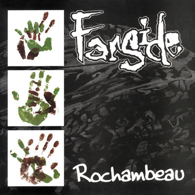 "REV025-1/2 Farside ""Rochambeau"" LP/CD Album Artwork"