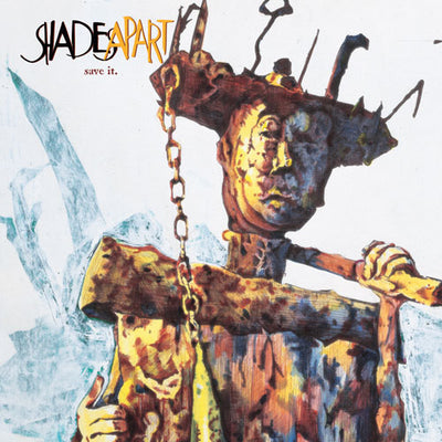 "REV040 Shades Apart ""Save It."" LP/CD Album Artwork"