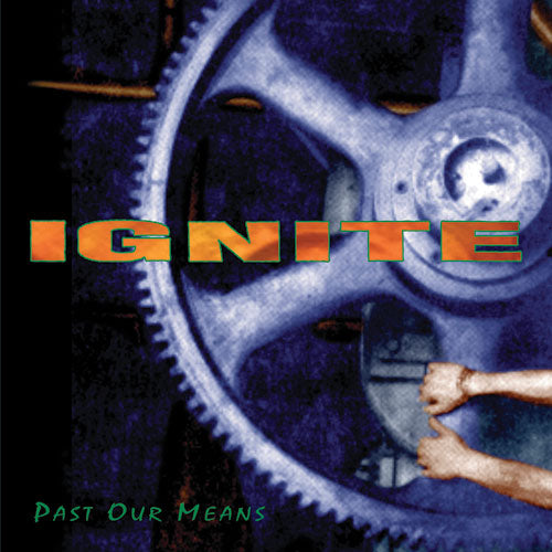 "REV054-1 Ignite ""Past Our Means"" 12""ep Album Artwork"