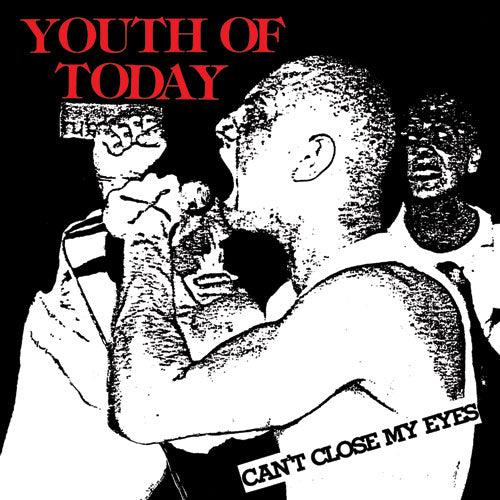 "REV062 Youth Of Today ""Can't Close My Eyes"" LP/CD Album Artwork"