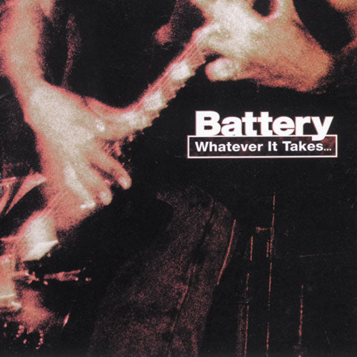 "REV065-2 Battery ""Whatever It Takes..."" CD Album Artwork"