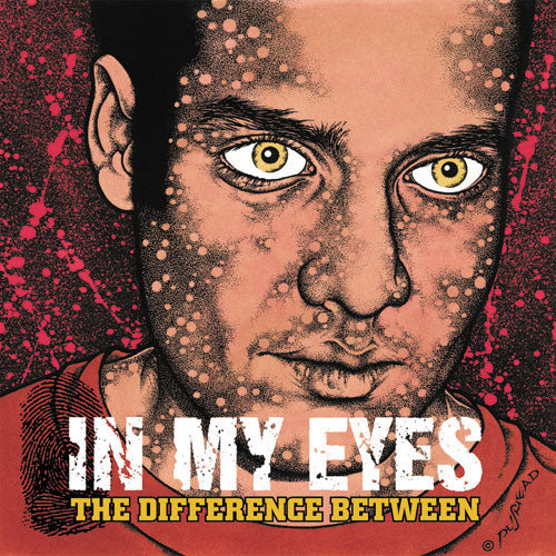"REV067-2 In My Eyes ""The Difference Between"" CD Album Artwork"