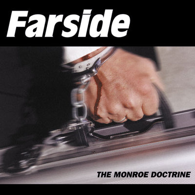 "REV069-1 Farside ""The Monroe Doctrine"" LP Album Artwork"