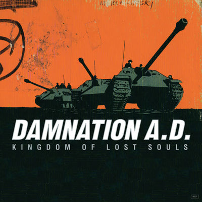 "REV071-1 Damnation A.D. ""Kingdom Of Lost Souls"" LP - Blue Album Artwork"