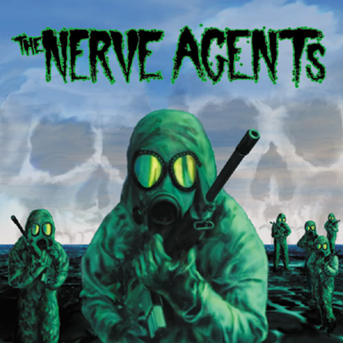 "REV073 The Nerve Agents ""s/t"" 12""ep/CD Album Artwork"