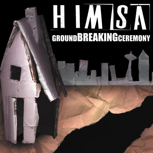 "REV087 Himsa ""Ground Breaking Ceremony"" LP/CD Album Artwork"