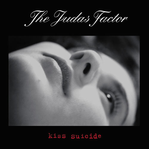 "REV092-2 The Judas Factor ""Kiss Suicide"" CD Album Artwork"