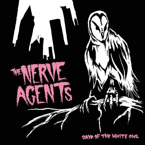 "REV094-2 The Nerve Agents ""Days Of The White Owl"" CD Album Artwork"