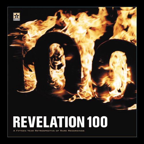 "REV100-2 V/A ""Revelation 100 ""15 Year Retrospective of Rare Recordings"" CD Album Artwork"