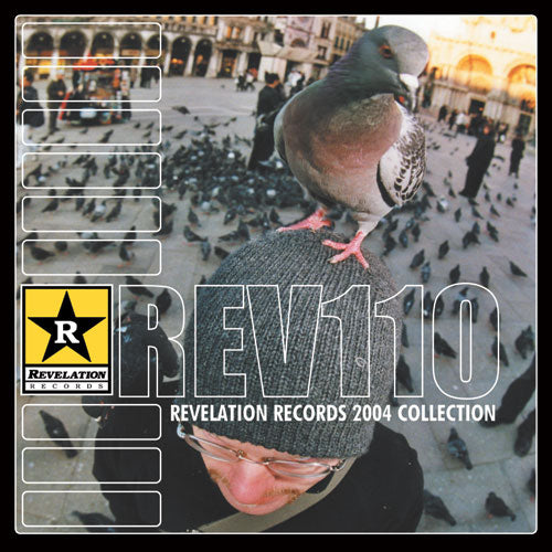 "REV110-2 V/A ""Revelation Records 2004 Collection"" CD Album Artwork"