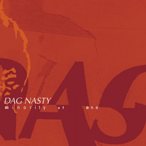 "REV111-1/2 Dag Nasty ""Minority Of One"" LP/CD Album Artwork"