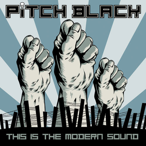 "REV124-2 Pitch Black ""This Is The Modern Sound"" CD Album Artwork"