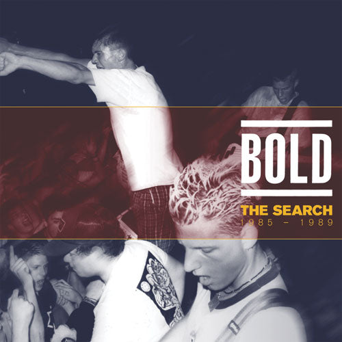"REV129-1/2 Bold ""The Search: 1985 - 1989"" 2xLP/CD Album Artwork"