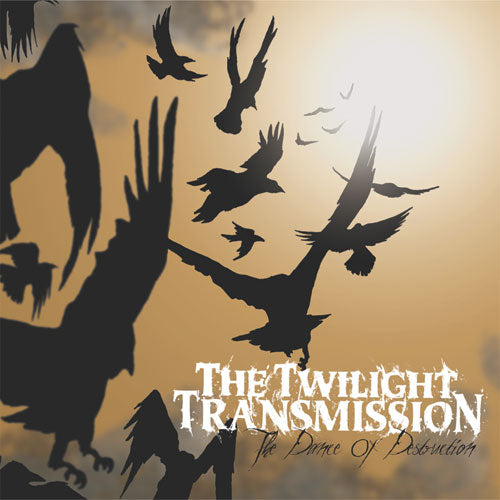 "REV133-2 The Twilight Transmission ""The Dance of Destruction"" CD Album Artwork"