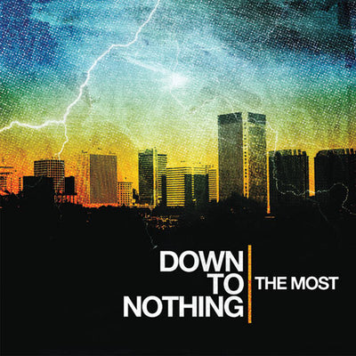 "REV141-1 Down To Nothing ""The Most"" LP - Gold Album Artwork"