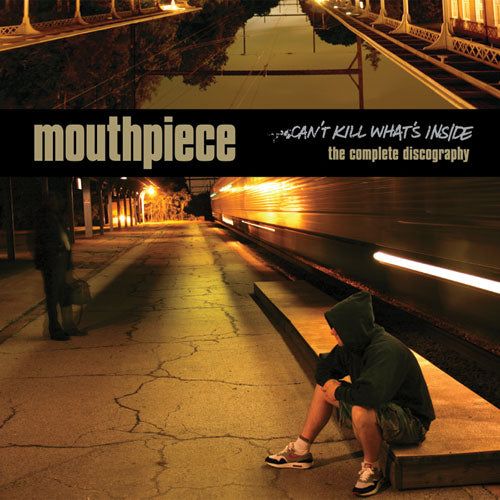 "REV147 Mouthpiece ""Can't Kill What's Inside: The Complete Discography"" LP/CD Album Artwork"