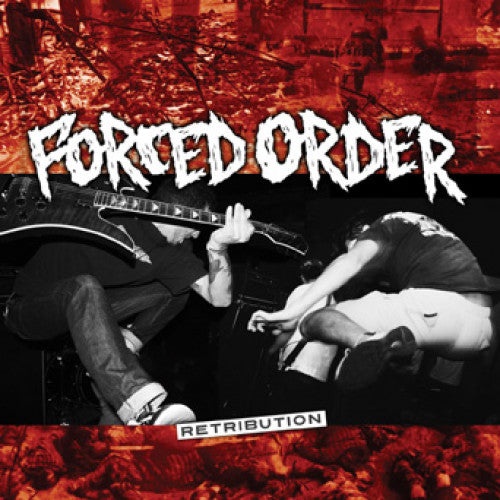 "REV156/B-1 Forced Order ""Retribution"" 7"" Album Artwork"