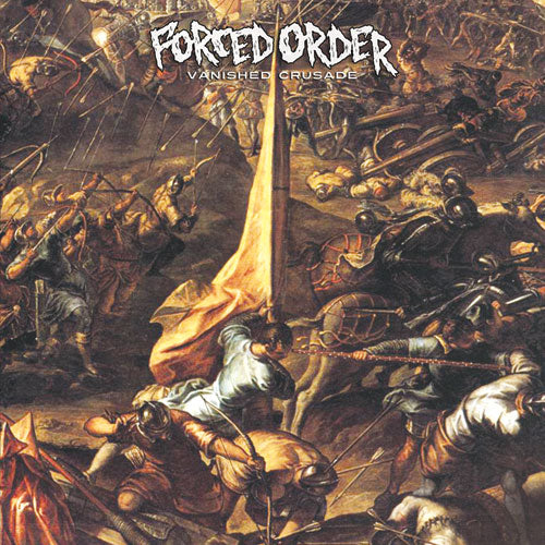 "REV161-2 Forced Order ""Vanished Crusade"" CD Album Artwork"