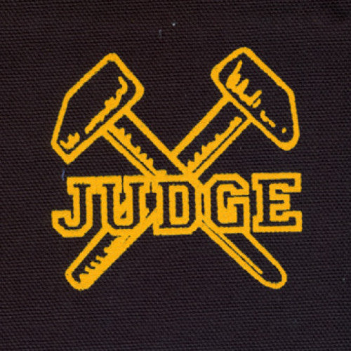 "REVCP014 Judge ""Logo"" -  Screenprinted Patch"