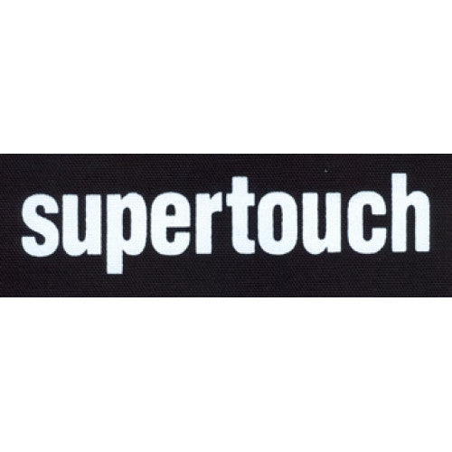 "REVCP021 Supertouch ""Logo (White)"" - Screenprinted Patch"