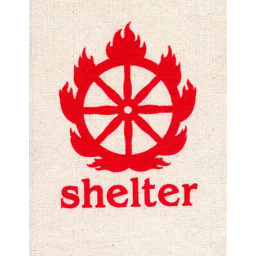 "REVCP066 Shelter ""Logo"" - Screenprinted Patch"