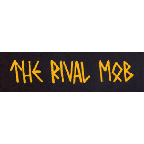 "REVCP150 The Rival Mob ""Logo"" - Screenprinted Patch"