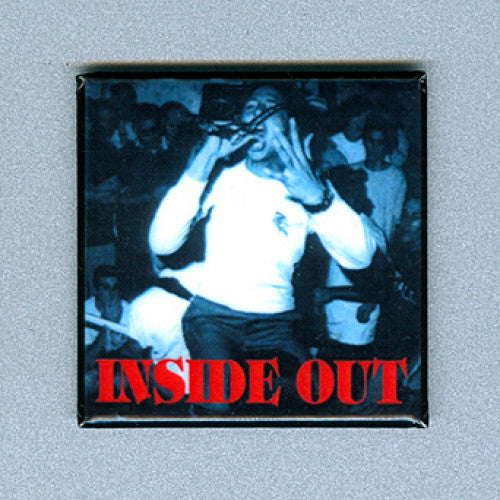 "REVMAG019 Inside Out ""No Spiritual Surrender"" -  Magnet (1.5"" Square Magnet)"