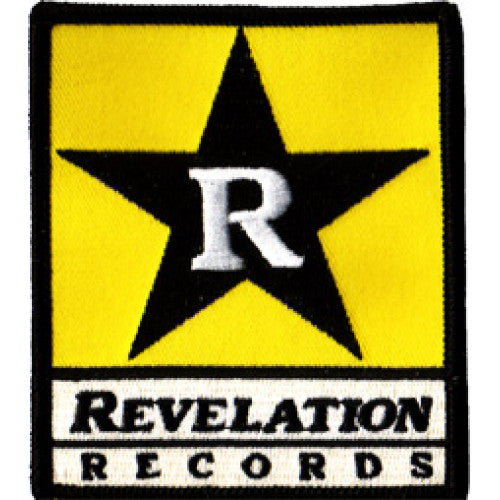 "REVPAT01 Revelation Records ""Logo"" -  Embroidered Patch"